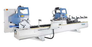OMRM 113 Automatic Double Head Aluminium Profile Cutting Machine