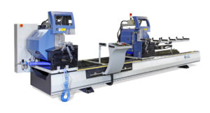 OMRM 133 Automatic Double Head Aluminium Profile Cutting Machine